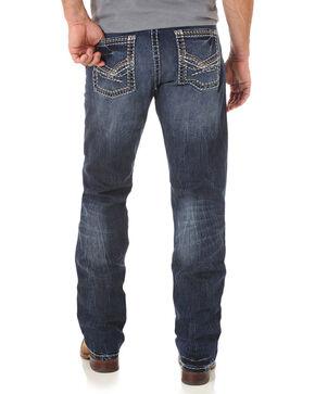 Wrangler Rock 47 Men's Indigo Slim Fit Jeans - Straight Leg , Indigo, hi-res