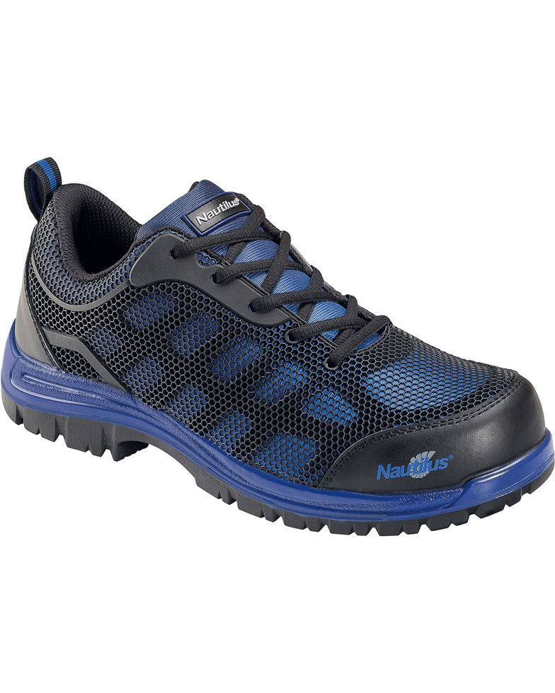 Nautilus Men's Blue Athletic Work Shoes - Composite Toe , Blue, hi-res