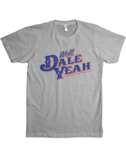 Dale Brisby Men's Well Dale Yeah T-Shirt , Grey, hi-res