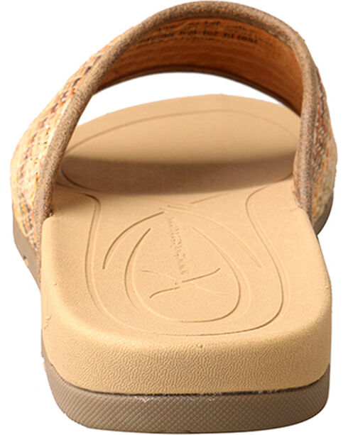 Twisted X Women's Woven Slide Sandal, Multi, hi-res