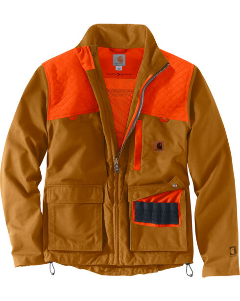 Carhartt Men's Upland Field Jacket, Pecan, hi-res