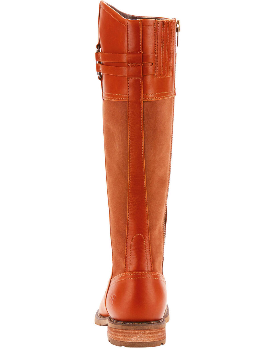 Ariat Women's Loxley Waterproof Country Boots - Round Toe, Suntan, hi-res