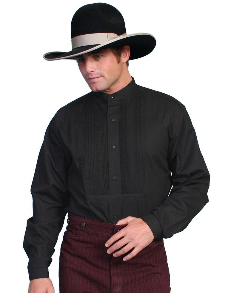 Wahmaker by Scully Gambler Shirt, Black, hi-res