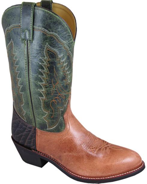 Smoky Mountain Men's Mason Western Boots - Medium Toe , Tan, hi-res