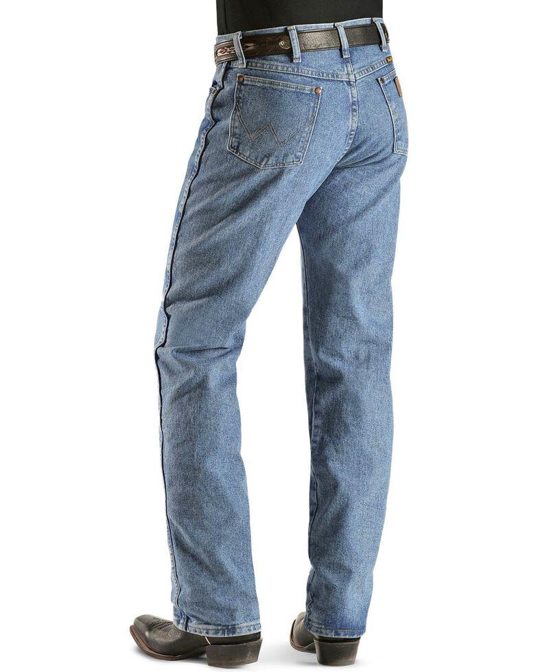 Wrangler 13MWZ Jeans Cowboy Cut Original Fit Prewashed Jeans , Antique Blue, hi-res