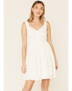 Idyllwind Women's No Joke Corset Dress, White, hi-res