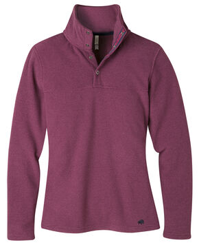 Mountain Khakis Women's Hollyhock Pop Top Pullover Jacket , Red, hi-res