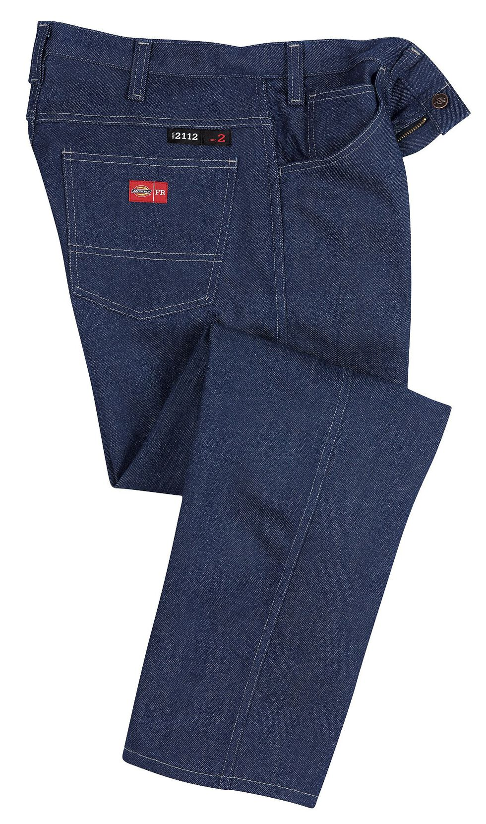 Dickies Relaxed Straight Leg Flame-Resistant Double-Knee Jeans - Big & Tall, Indigo, hi-res