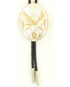 Crumrine Oval Soaring Eagle Bolo Tie, Multi, hi-res