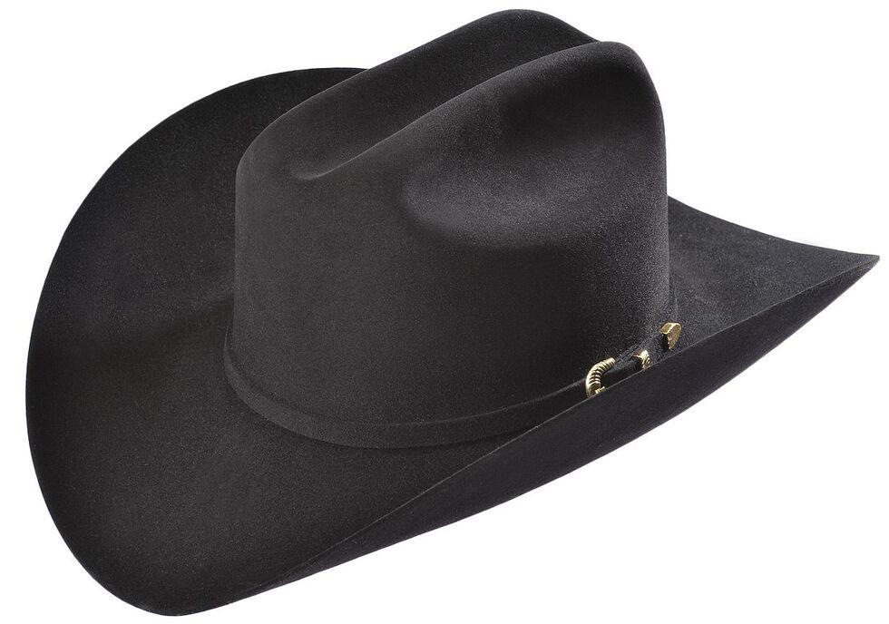 b5ba5eacafe04 Larry Mahan Black Reno 6X Fur Felt Cowboy Hat
