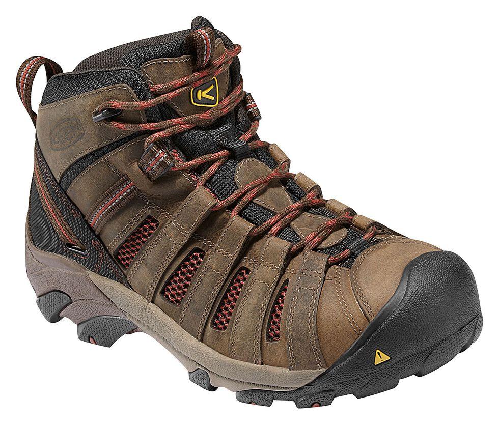 eca2c9f729d Keen Men s Flint Low Hiking Shoes - Steel Toe