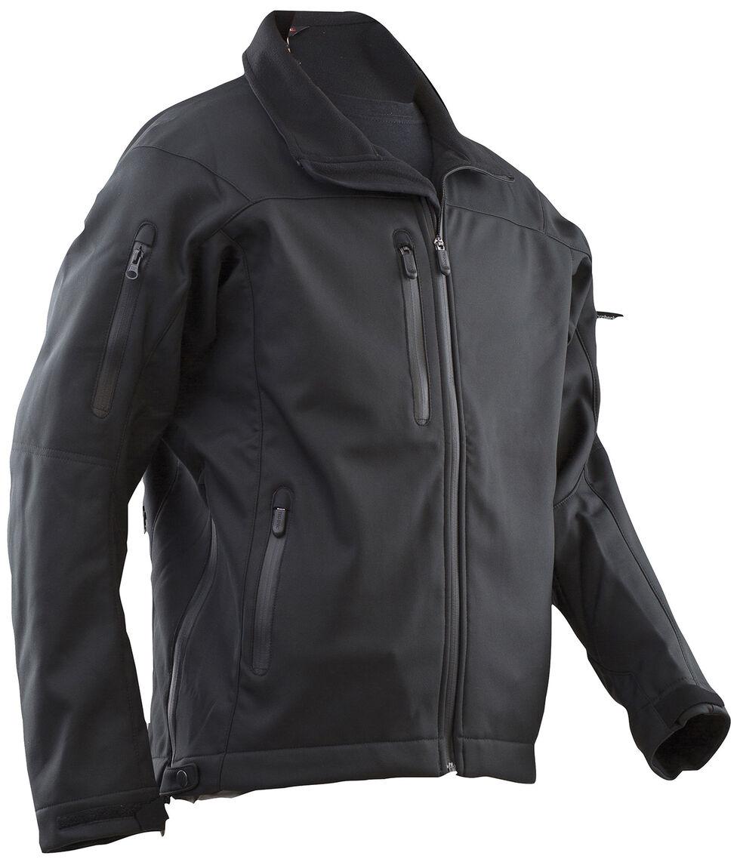 Tru-Spec Men's 24-7 Series LE Softshell Jacket, Black, hi-res