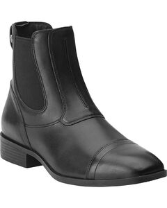 Ariat Women's Challenge Paddock Pull-On Boots, Black, hi-res