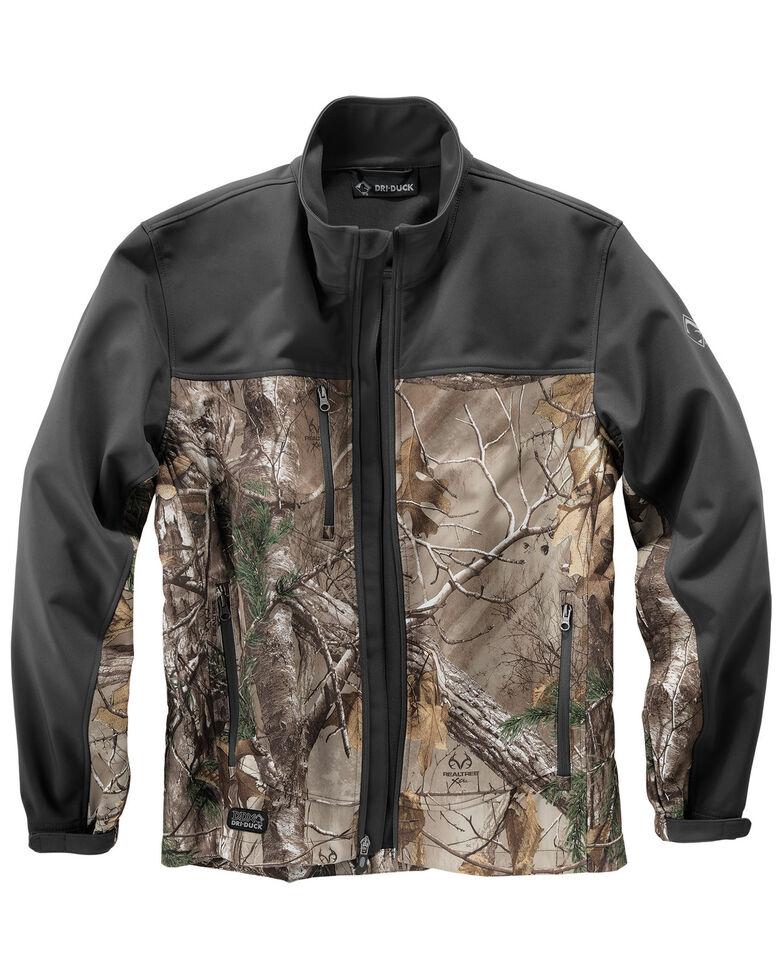 Dri Duck Men's Motion Realtree Xtram Camo Softshell Jacket - Big & Tall, Camouflage, hi-res