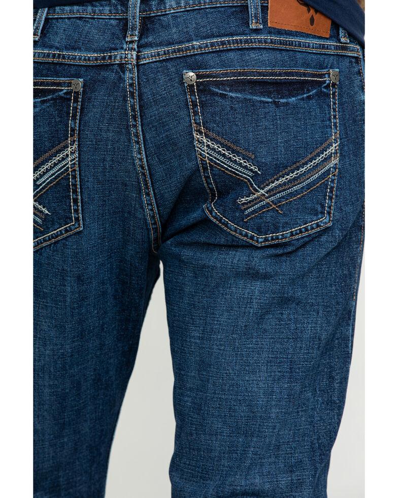 Wrangler 20X Men's Amarillo Vintage Stretch Slim Bootcut Jeans - Long , Blue, hi-res