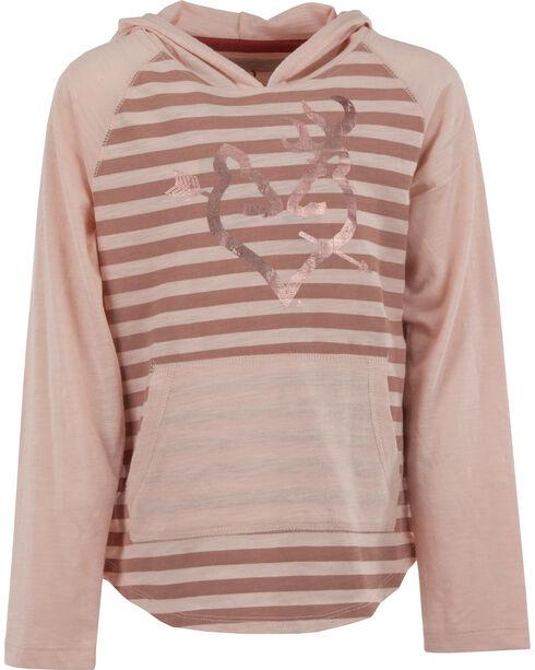 Browning Girls' Pink Papaver Hooded Tee , Pink, hi-res