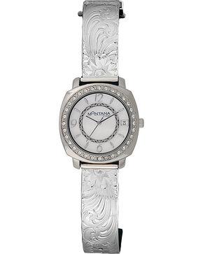 Montana Silversmiths Medium Moon Face Watch, Silver, hi-res