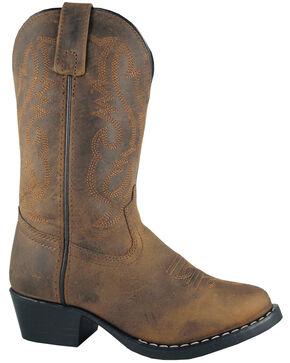 Smoky Mountain Toddler Boys' Denver Western Boots - Round Toe, No Color, hi-res
