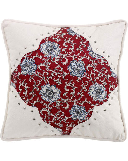 HiEnd Accents Bandera Scalloped Accent Pillow, Multi, hi-res