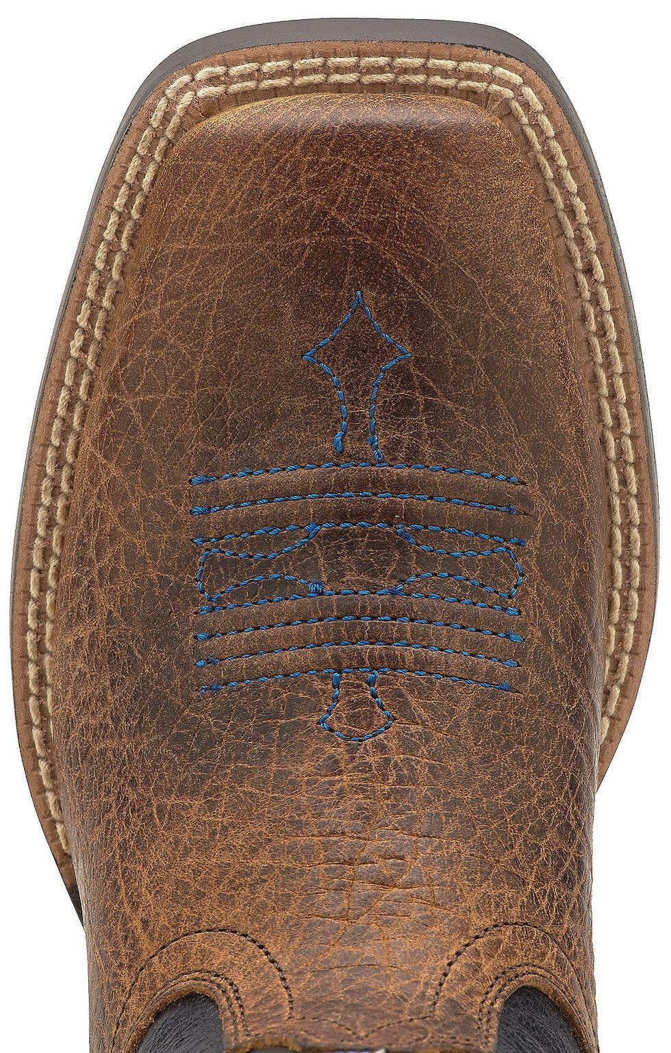 Ariat Boys' Tombstone Cowboy Boots - Square Toe, Earth, hi-res