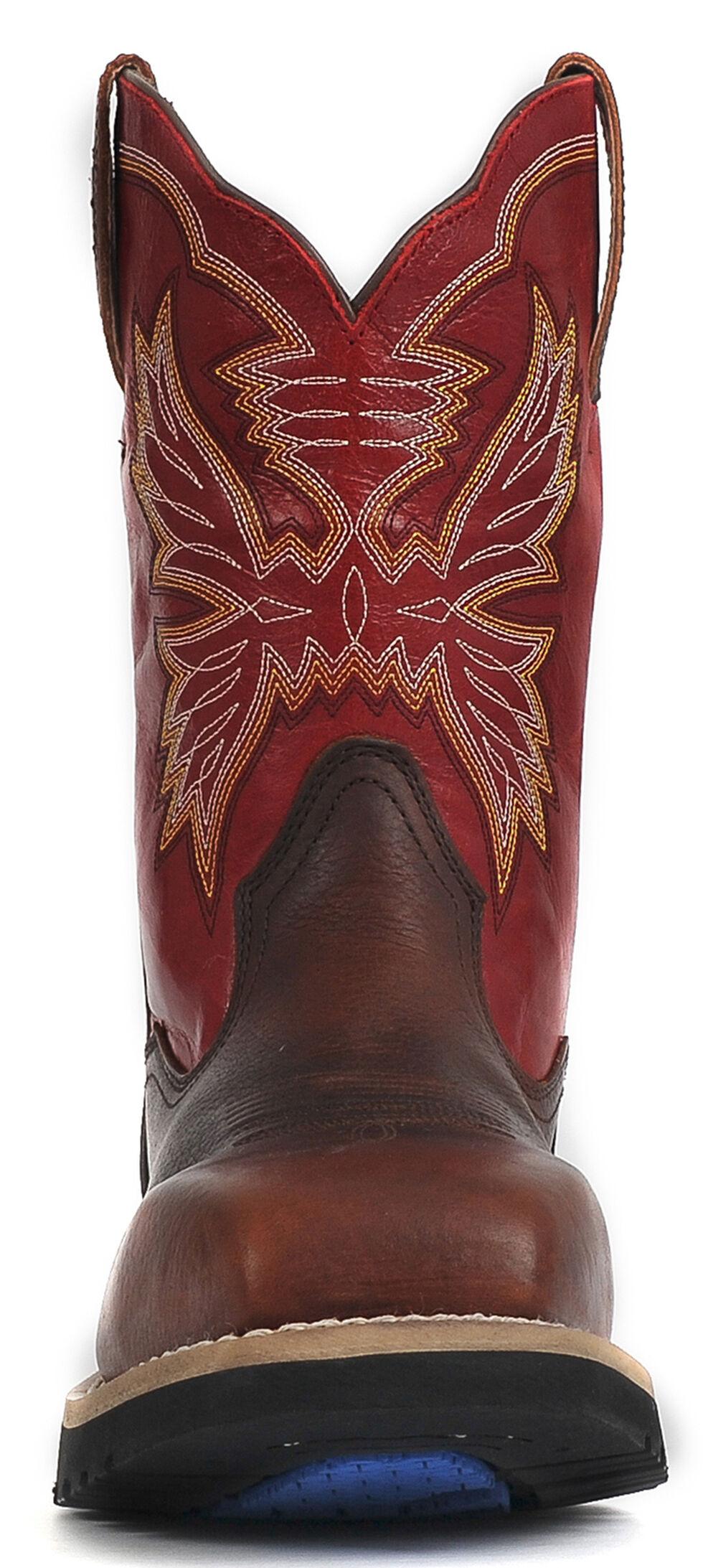 """Cinch® WRX Men's Waterproof 11"""" Work Boots - Steel Toe , Brown, hi-res"""