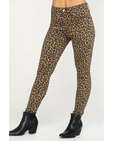 Levi's Women's 720 High Rise Super Skinny Leopard Print Pants, Multi, hi-res