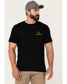 Browning Men's Black Diamond Camo Buckmark Graphic Short Sleeve T-Shirt , Green, hi-res