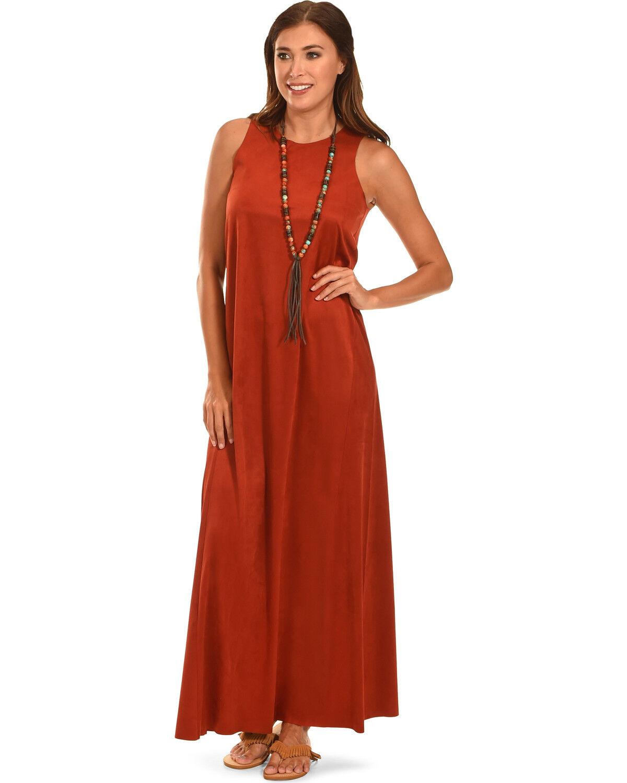 Cowgirl Maxi Dress