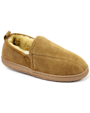 Lamo Men's Romeo Slippers , Chestnut, hi-res