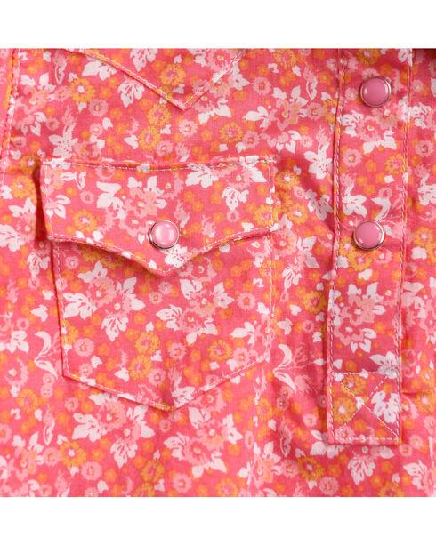 Wrangler Infant Girls' Pink Ditsy Floral Printed Onesie , Pink, hi-res