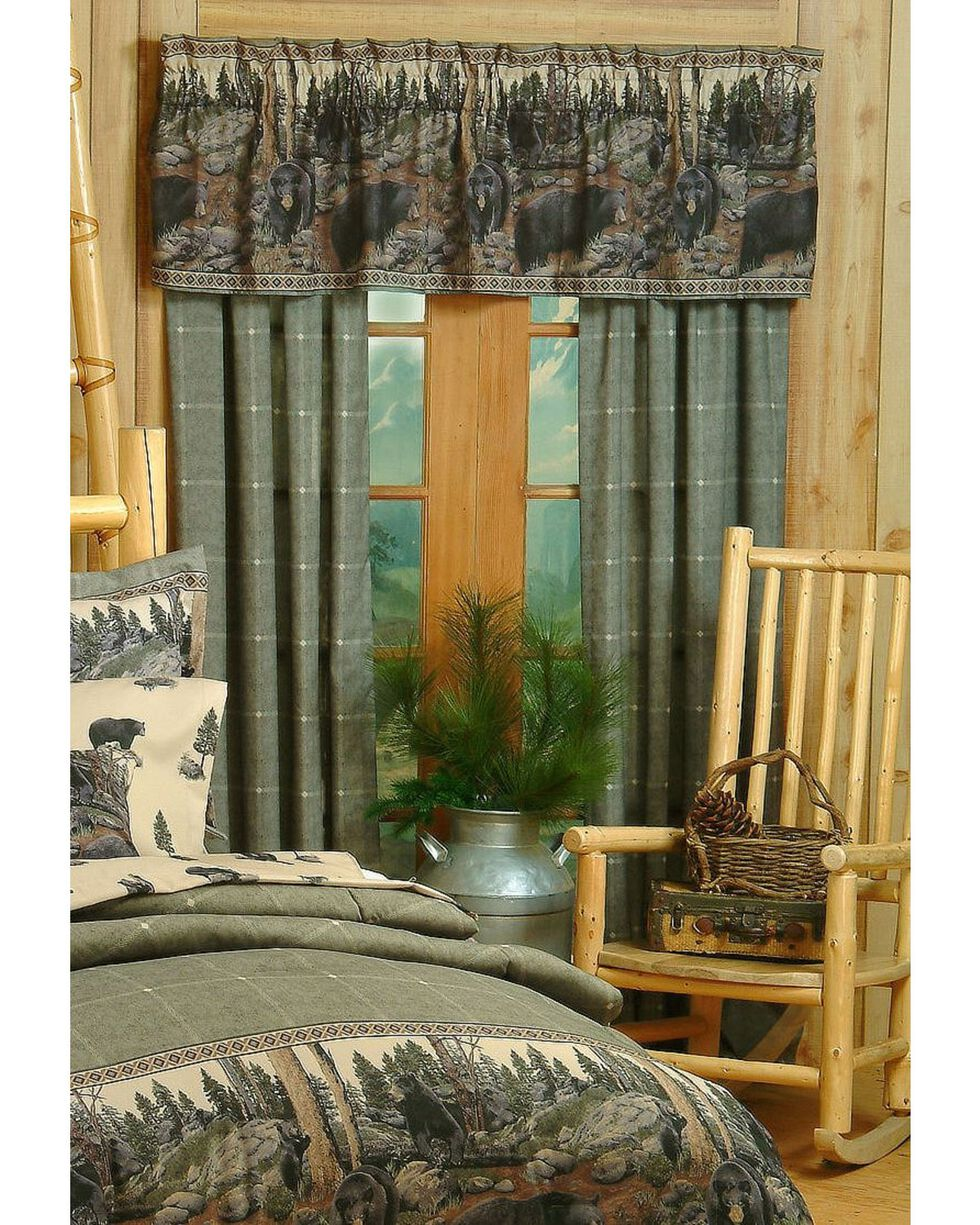 Blue Ridge Trading Bears Drapes, Black, hi-res