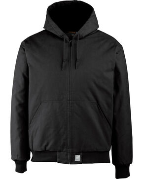 Wolverine Men's Black Jaxon Duck Jacket, Black, hi-res