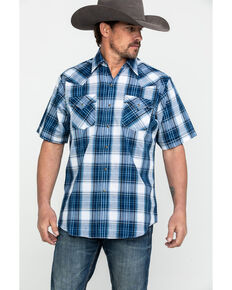 6aa47d7f Ely Cattleman Mens Assorted Multi Plaid Short Sleeve Western Shirt , Multi,  hi-res