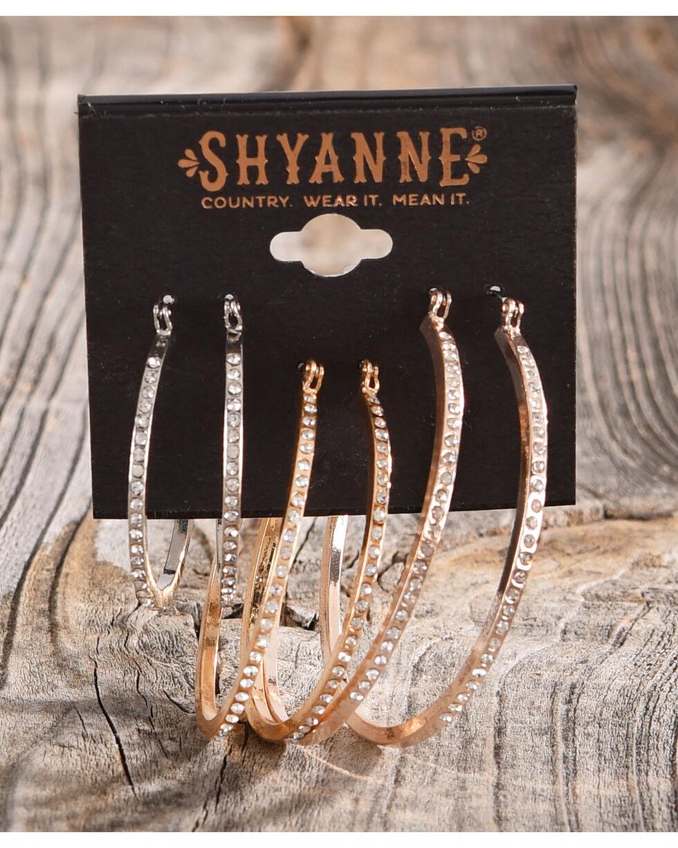Shyanne Women's Sandstone Multi-Hoop Earring Set, Sand, hi-res