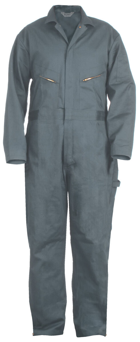 Berne Deluxe Unlined Coveralls, Blue, hi-res