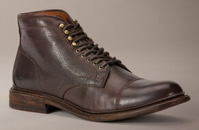 Frye Jack Lace-Up Boots, Dark Brown, hi-res