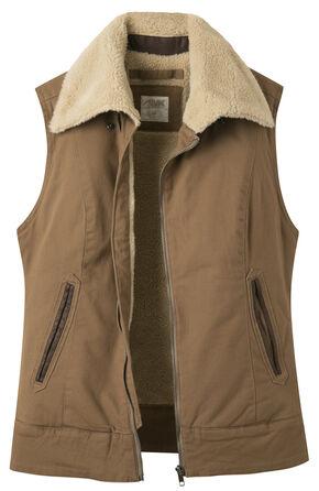 Mountain Khakis Women's Ranch Shearling Vest, Brown, hi-res
