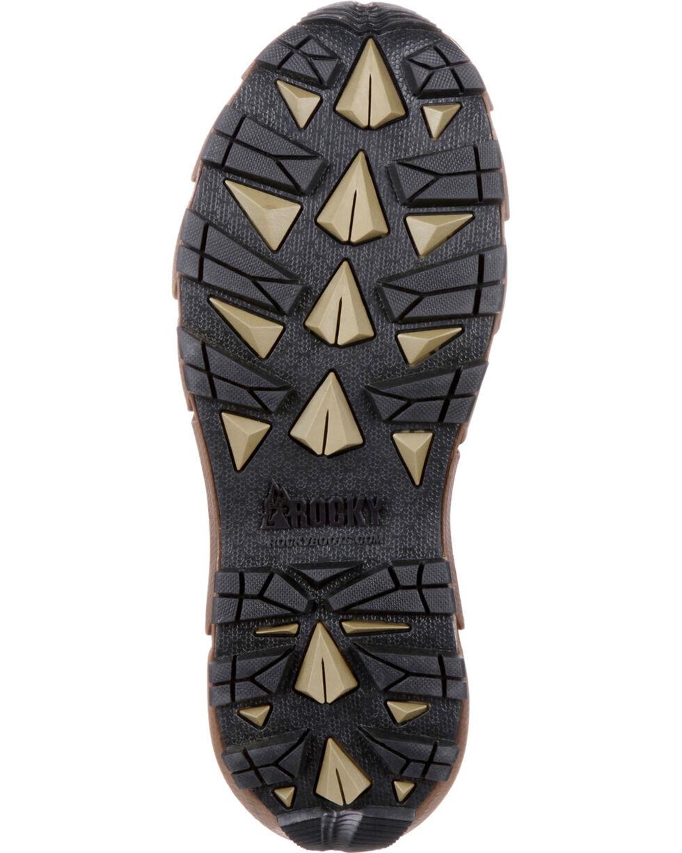 Rocky Men's Brown Broadhead Waterproof Trail Snake Boots - Round Toe , Brown, hi-res
