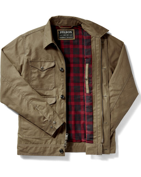 Filson Men's Dark Tan Northway Jacket , Tan, hi-res