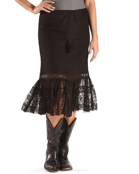 Angel Premium Women's Davis Skirt , Black, hi-res