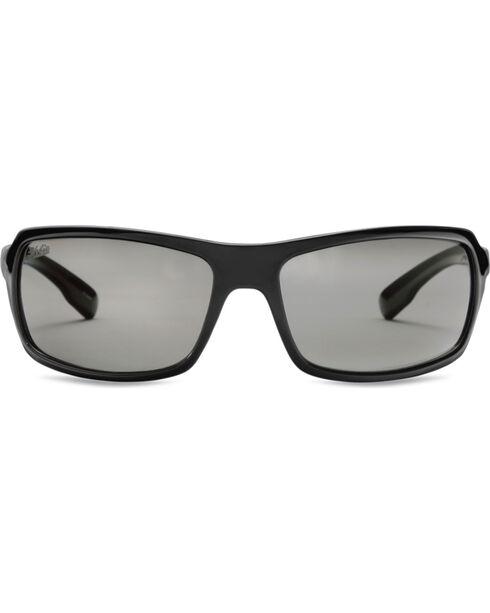Hobie Men's Black Malibu Polarized Sunglasses, Black, hi-res