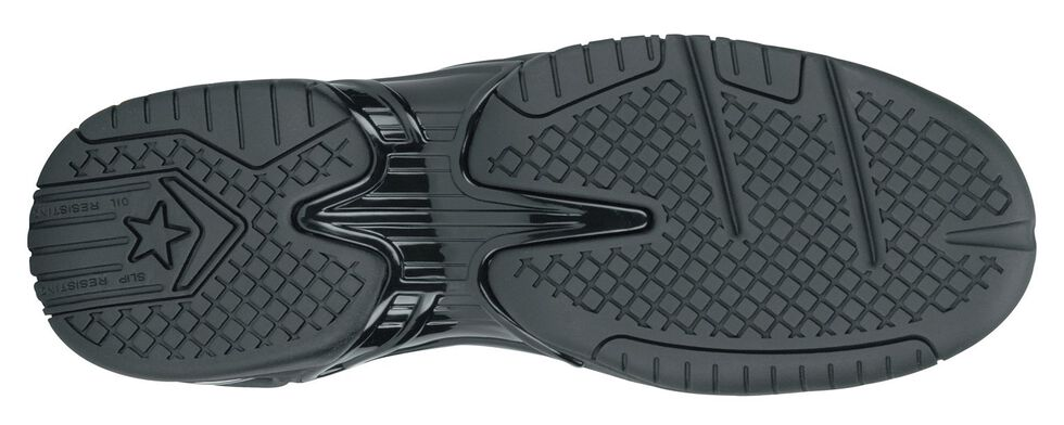 Reebok Women's Tyak Work Shoes - Composite Safety Toe, Black, hi-res