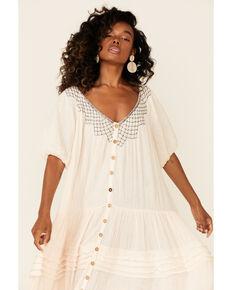 Free People Women's Sunday Stroll Maxi Dress, Ivory, hi-res