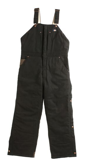 Dickies ® Sanded Duck Overalls - Big & Tall, Black, hi-res
