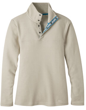 Mountain Khakis Women's Pop Top Pullover Jacket, Tan, hi-res