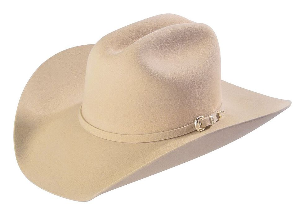 Justin 4X Cody Fur Felt Cowboy Hat, Belly, hi-res