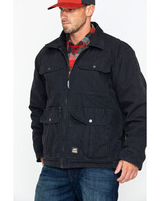 Berne Men's Lightweight Echo Zero One Work Jacket , Black, hi-res