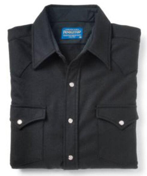 Pendleton Men's Black Western Wool Canyon Shirt , , hi-res