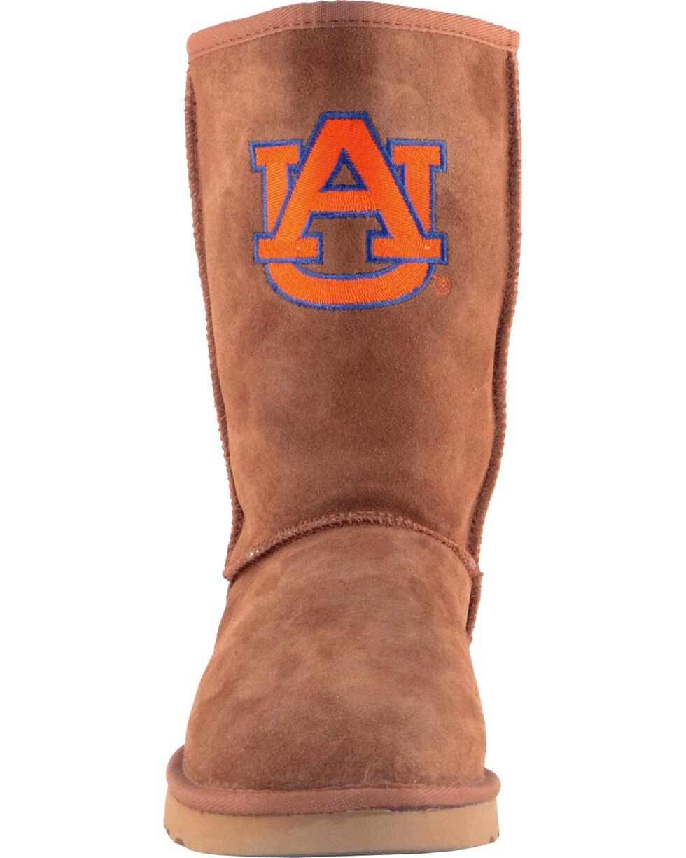 Gameday Boots Women's Auburn University Lambskin Boots, Tan, hi-res