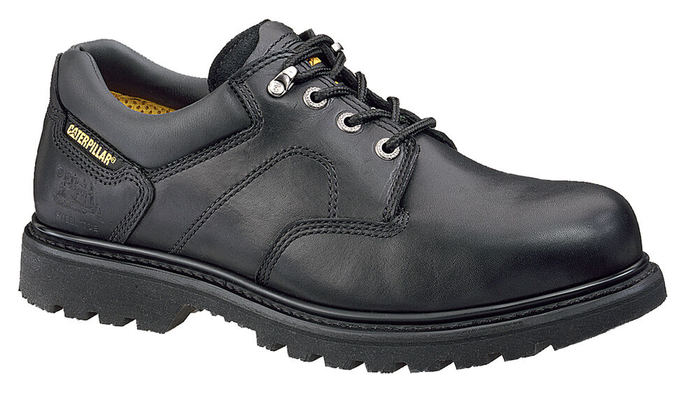 Caterpillar Men's Ridgemont Work Shoes, Black, hi-res